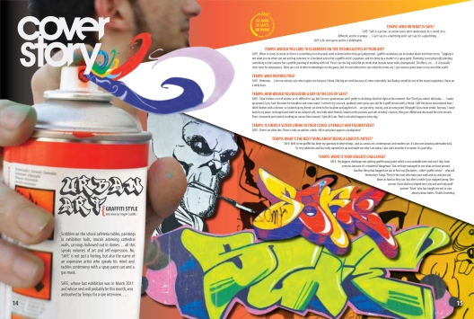 Article on SAFE the graffiti artist