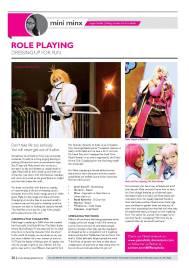 Article on Cosplay : Maha
