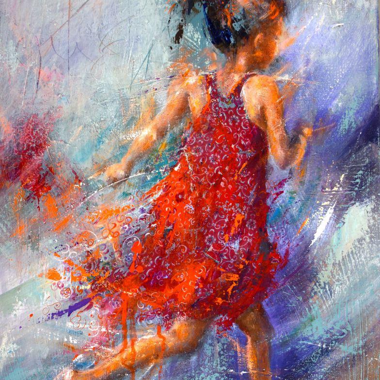The_red_dress - Clara Baudot