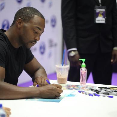 Anthony signing