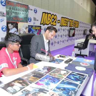 Cas Anvar Signing