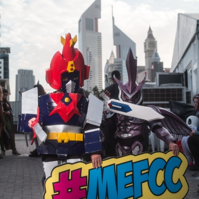 Cosplayers at MEFCC 2016 (1)