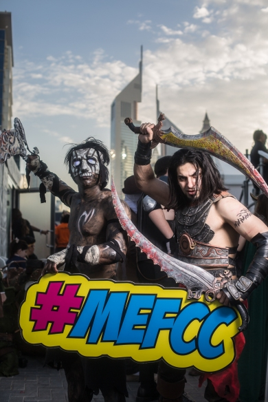Cosplayers at MEFCC 2016 (2)
