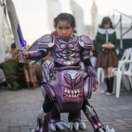 Cosplayers at MEFCC 2016 (7)